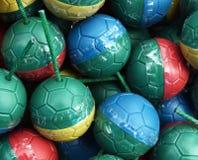 五颜六色的微型炸弹球 免版税库存图片