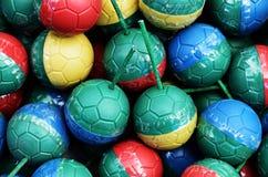 五颜六色的微型炸弹球 图库摄影