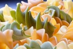 五颜六色的意大利面食 库存图片