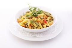 五颜六色的意大利面食 免版税图库摄影