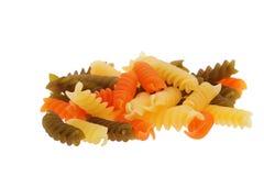 五颜六色的意大利面食 图库摄影