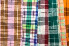 五颜六色的手工制造缠腰带 免版税图库摄影