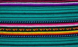 五颜六色的手工制造织品 图库摄影