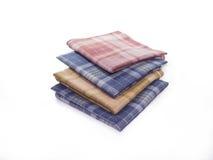 五颜六色的手帕 免版税库存照片