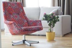 五颜六色的扶手椅子 免版税库存照片