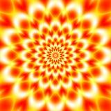 五颜六色的抽象催眠五颜六色的隧道 向量例证
