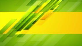 五颜六色的抽象公司几何录影动画