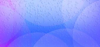 五颜六色的抽象天蓝色颜色被弄脏的蚀反射了泡影织地不很细背景 皇族释放例证
