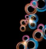 五颜六色的抽象技术背景 皇族释放例证