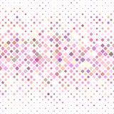 五颜六色的抽象方形的样式背景 免版税库存照片