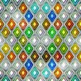 五颜六色的抽象无缝的纹理 库存照片