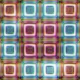五颜六色的抽象无缝的纹理 库存图片