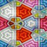 五颜六色的抽象无缝的纹理 免版税图库摄影