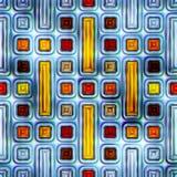 五颜六色的抽象无缝的纹理 免版税库存图片
