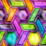 五颜六色的抽象无缝的纹理 免版税库存照片