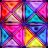 五颜六色的抽象无缝的纹理 图库摄影