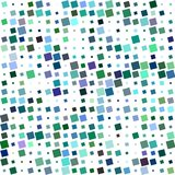 五颜六色的抽象有角方形的样式设计 皇族释放例证