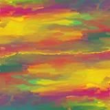 五颜六色的抽象水彩。 免版税图库摄影