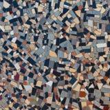 五颜六色的抽象石马赛克 库存图片