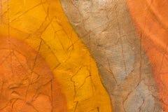 五颜六色的抽象背景地球口气 免版税库存照片