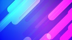 五颜六色的抽象背景桃红色和蓝色使成环无缝 皇族释放例证
