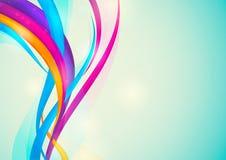 五颜六色的抽象背景 免版税图库摄影