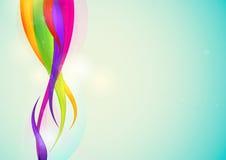 五颜六色的抽象背景 免版税库存图片