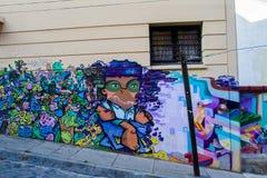 五颜六色的抽象街道艺术 免版税库存照片