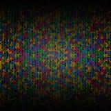 五颜六色的抽象马赛克 免版税库存图片