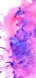 五颜六色的抽象水彩背景与飞溅并且洒 时髦设计的现代创造性的背景 向量例证
