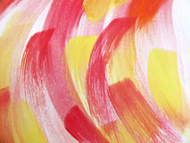 五颜六色的抽象水彩 图库摄影