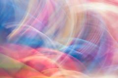 五颜六色的抽象轻的生动的颜色被弄脏的背景 葡萄酒 免版税图库摄影