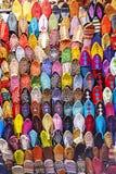 五颜六色的拖鞋 免版税图库摄影