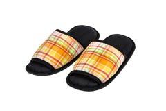五颜六色的拖鞋 免版税库存图片