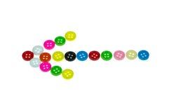 五颜六色的按钮,五颜六色的Clasper 库存照片