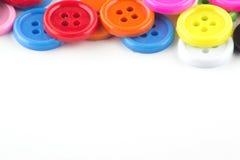 五颜六色的按钮 图库摄影