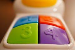 五颜六色的按钮 库存照片