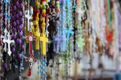 五颜六色的摊位在果阿印度 库存图片