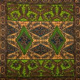 从五颜六色的摩洛哥瓦片的兆华美的无缝的补缀品样式,装饰品 免版税库存照片