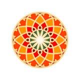 五颜六色的摩洛哥瓦片装饰品 免版税库存照片