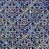 五颜六色的摩洛哥,葡萄牙瓦片, Azulejo,装饰品 可以是 免版税库存图片