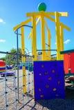 五颜六色的操场的图片用设备, Levin,新西兰 库存图片