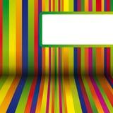 五颜六色的数据条背景 免版税库存照片