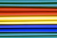 五颜六色的文件夹 库存照片