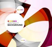 五颜六色的新现代抽象背景 库存照片