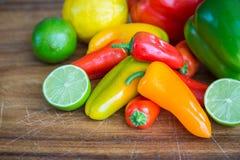 五颜六色的新鲜农产品 库存图片