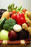 五颜六色的新鲜蔬菜 免版税库存图片