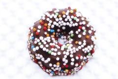 五颜六色的方旦糖曲奇饼 库存照片