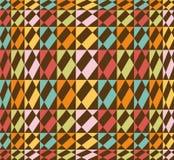 五颜六色的无缝的几何模式-向量 库存例证