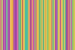 五颜六色的无缝的条纹样式 抽象彩虹例证背景 时髦的现代趋向颜色 库存图片